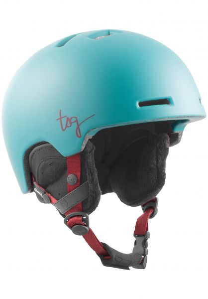 TSG Snowboardhelme Cosma Solid Color satin cauma green vorderansicht 0223008