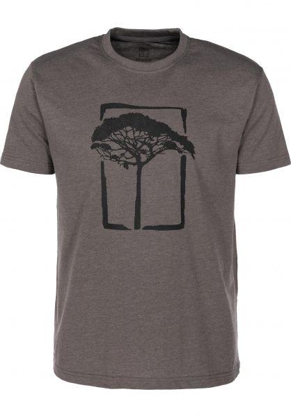 Mahagony T-Shirts T.O.L charcoal-darkgrey vorderansicht 0399464