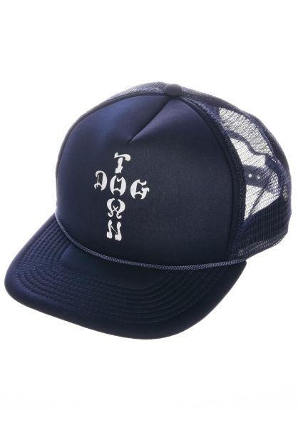 Dogtown Caps Cross Letter Mesh Cap navy vorderansicht 0560796