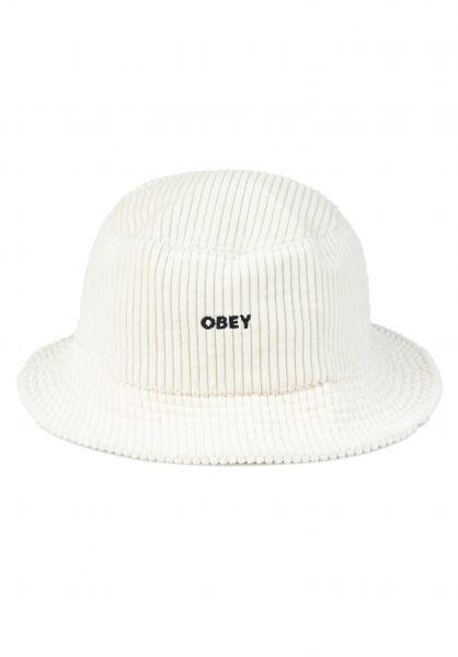 OBEY Hüte Bold Cord sago vorderansicht 0580456