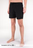 iriedaily Shorts Get Down black Vorderansicht