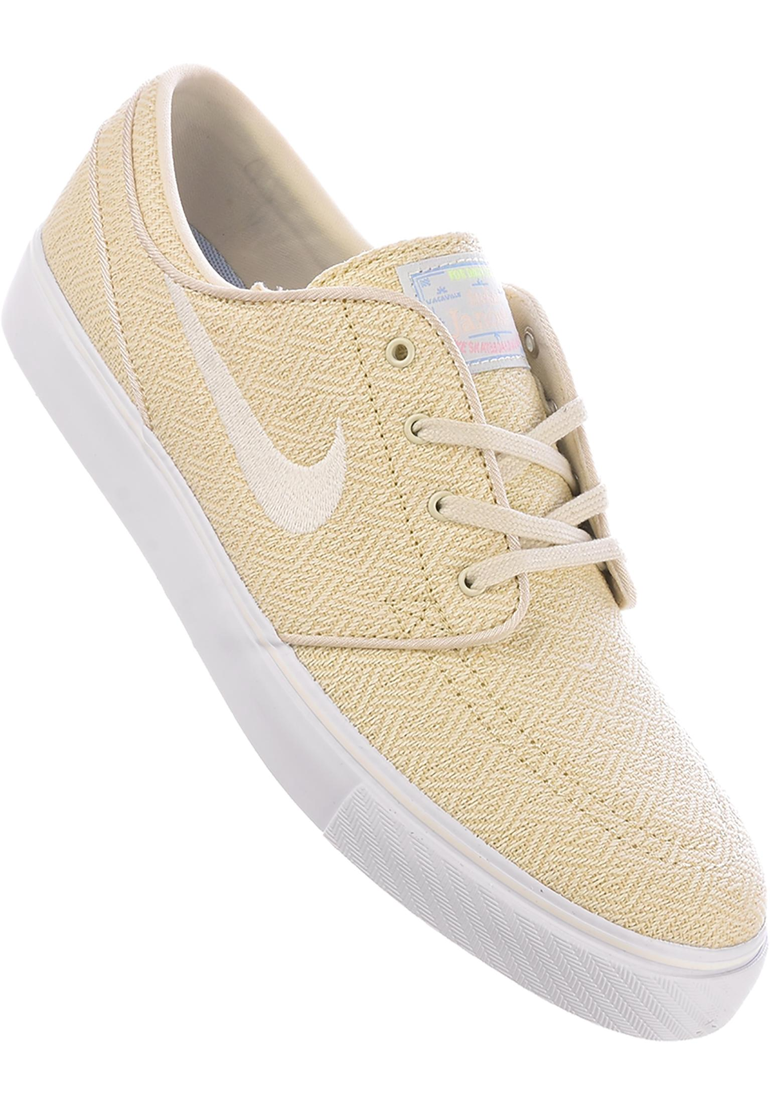 4d9d013d92 Zoom Stefan Janoski CNVS Nike SB All Shoes in fossil-sail-white for Men