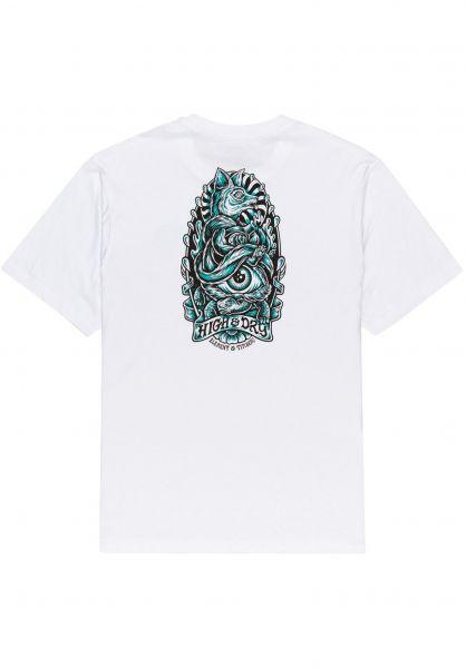 Element T-Shirts x Tmber Antidote State opticwhite vorderansicht 0323340