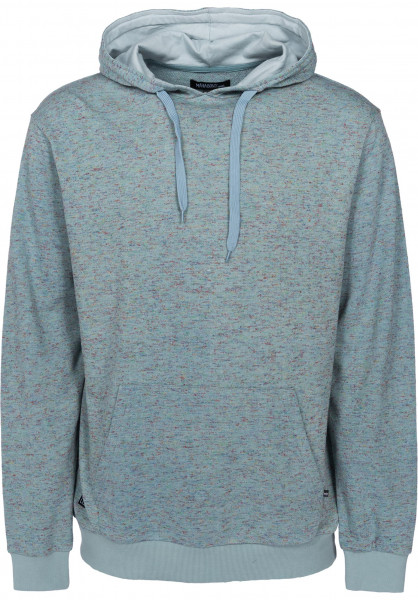 Mahagony Hoodies New Space aqua Vorderansicht