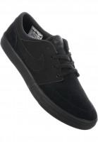 Nike SB Alle Schuhe Solarsoft Portmore II black-black-anthracite Vorderansicht
