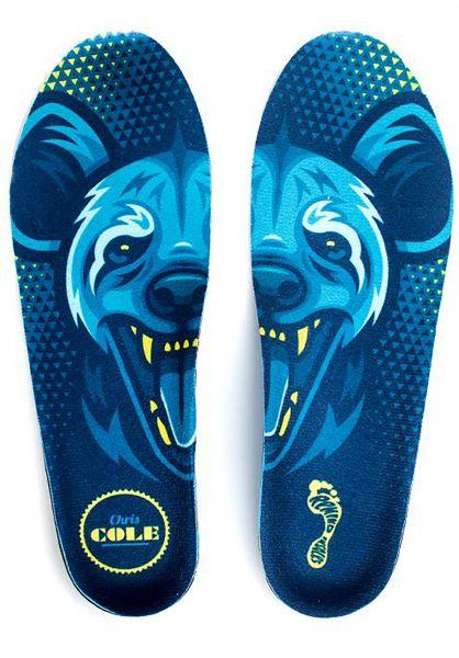 Remind Insoles Einlegesohlen Cole Medic x Hyena blue vorderansicht 0249161