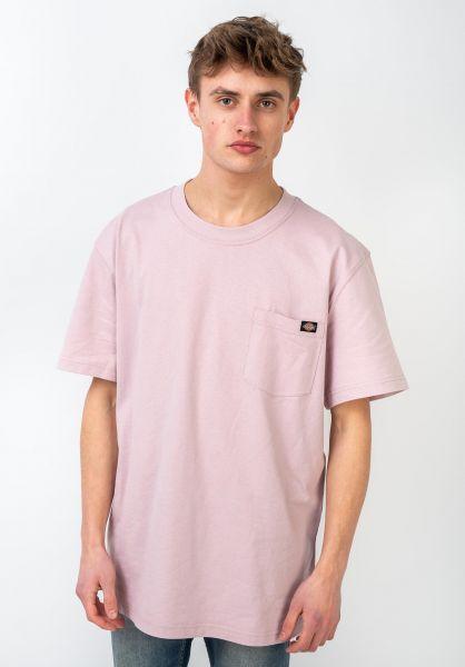Dickies T-Shirts Porterdale violet vorderansicht 0321323