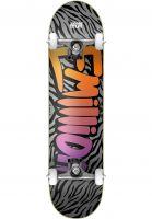 EMillion Skateboard komplett Wild Logo grey Vorderansicht
