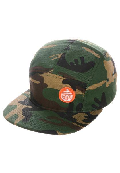 Darkroom Caps Sentry Camp camo vorderansicht 0566368