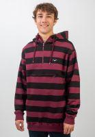cleptomanicx-hoodies-stripe-3-0-windsorwine-vorderansicht-0445507