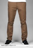 Carhartt WIP Chinos und Stoffhosen Sid-(Lamar) carhartt-brown Vorderansicht