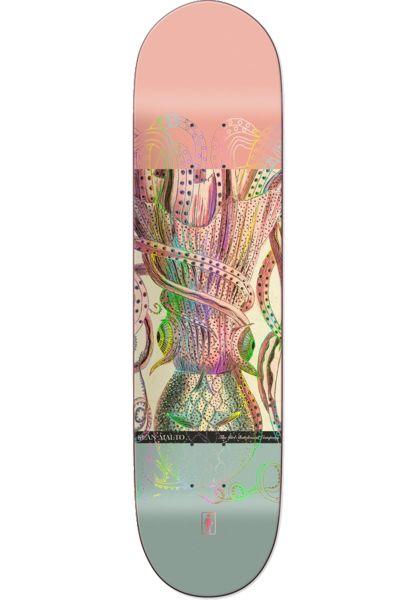 Girl Skateboard Decks Malto Ecol OG multicolored vorderansicht 0261746