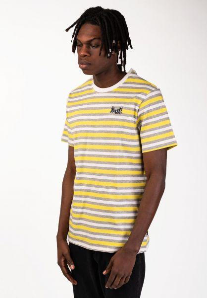 HUF T-Shirts Rockaway aurorayellow vorderansicht 0320168