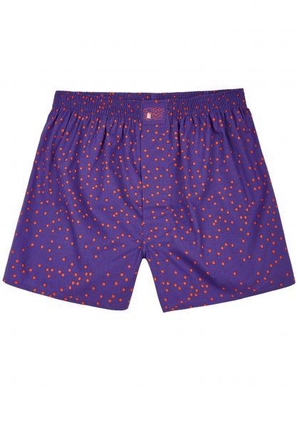 Lousy Livin Unterwäsche Dots purple vorderansicht 0213164