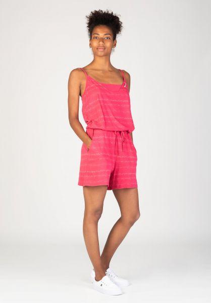 Ragwear Jumpsuits Bara Organic rose vorderansicht 0251036
