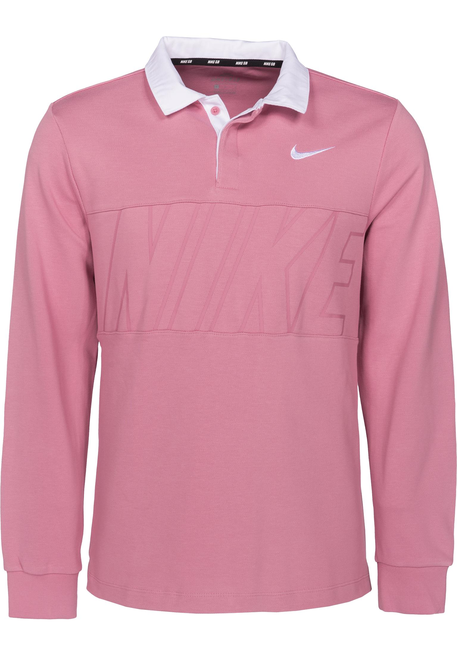 Dry Top Rugby Nike Sb Polo Shirts In Elementalpink White For Men Titus