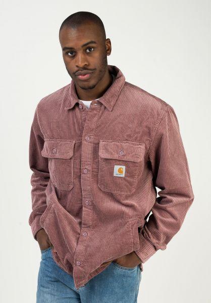 Carhartt WIP Übergangsjacken Dixon Shirt Jac malagarinsed vorderansicht 0504690
