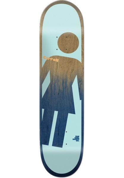 Girl Skateboard Decks Carroll OG Tilt A Girl multicolored vorderansicht 0261750