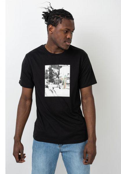 Brixton T-Shirts Cart black vorderansicht 0321454