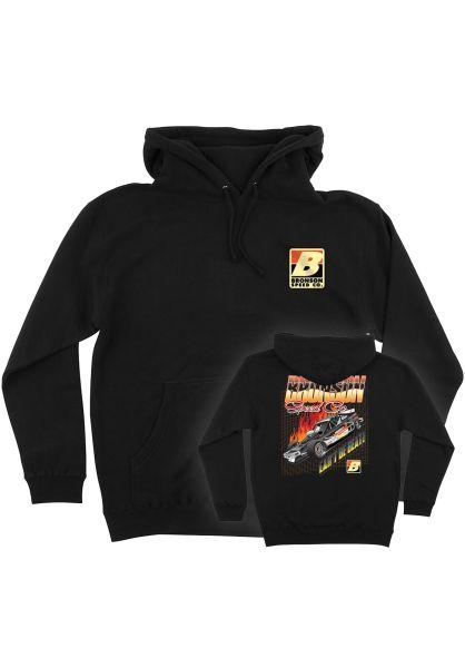 Bronson Speed Co. Hoodies Can´t Be Beat black vorderansicht 0445808