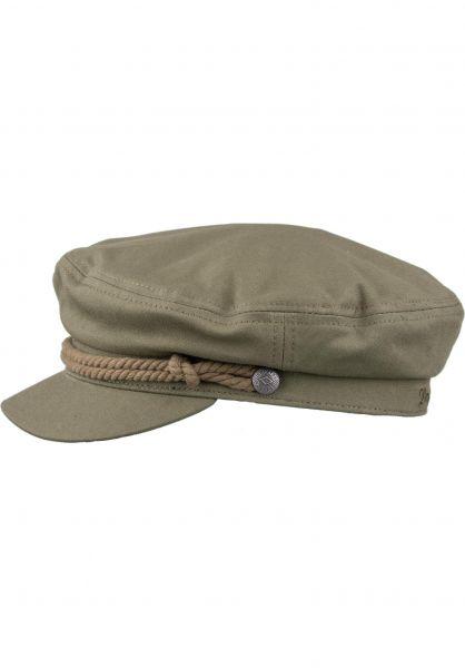Brixton Hüte Fiddler militaryolive vorderansicht 0580162