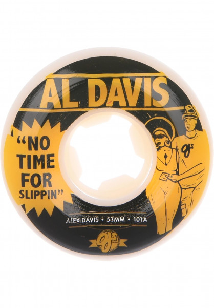 OJ Wheels Rollen Davis No Time 101A white Vorderansicht