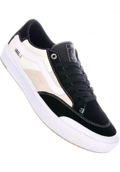Vans Alle Schuhe Berle Pro black-truewhite vorderansicht 0604561