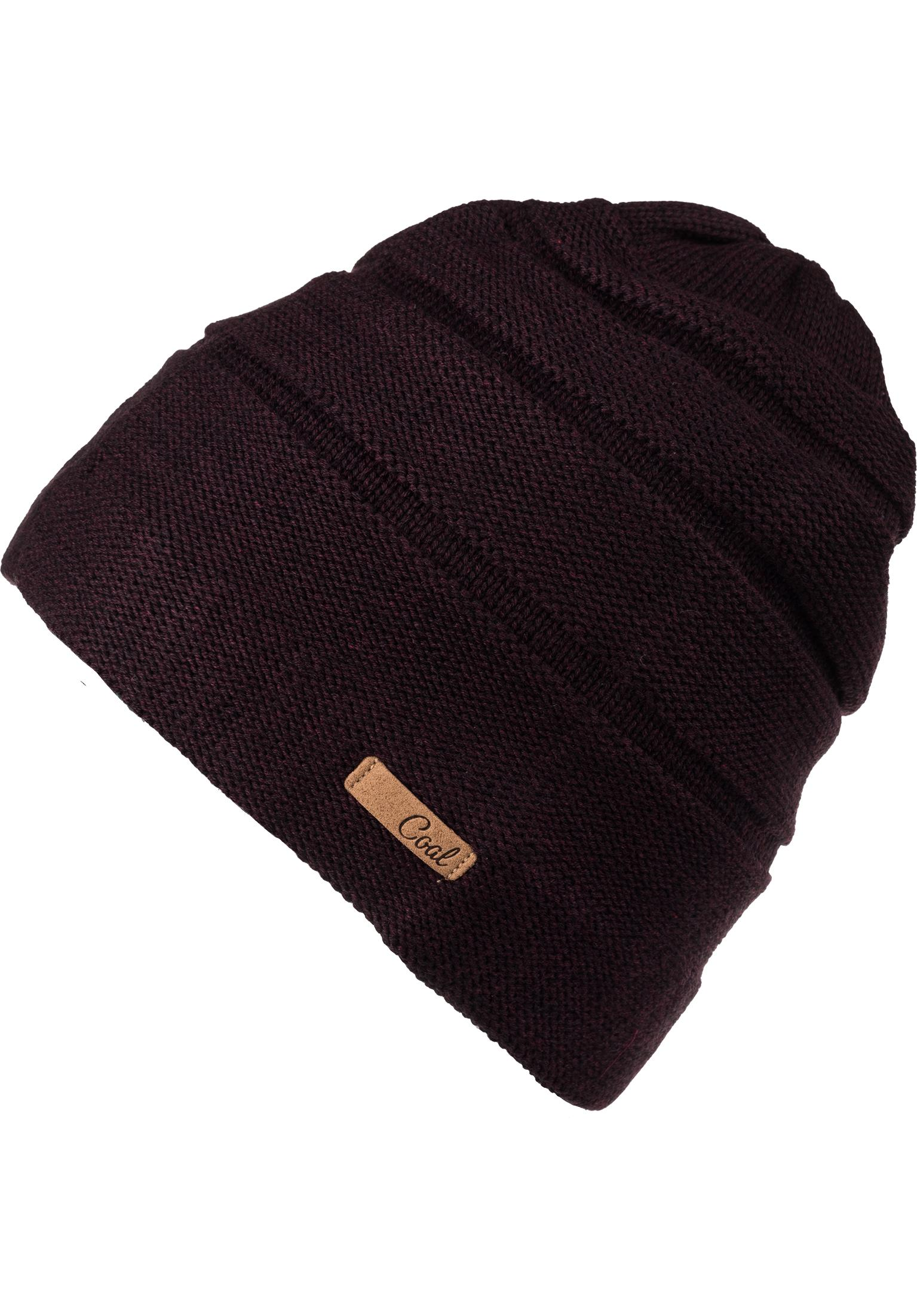 7fea07a0f899c The Cameron coal Beanies in plum for Women