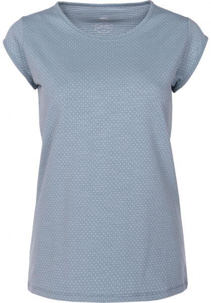 TITUS T-Shirts Kaylie blue Vorderansicht