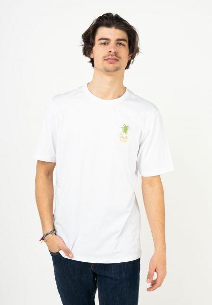 TITUS T-Shirts Joris white vorderansicht 0321999