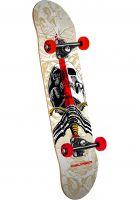 Powell-Peralta Skateboard komplett Skull & Sword one off-beige Vorderansicht