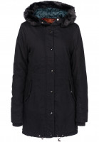 Bench Parkas und Mäntel Core Cotton blackbeauty Vorderansicht