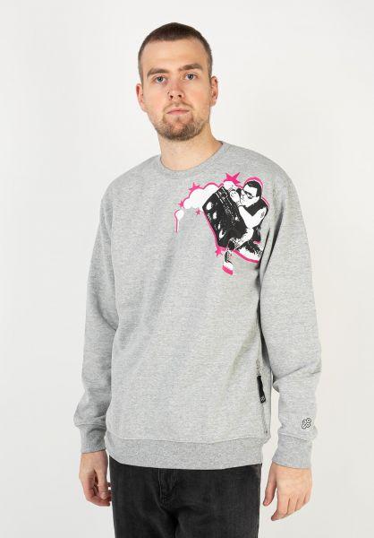 Fourasses Sweatshirts und Pullover Ghetto grey vorderansicht 0423148