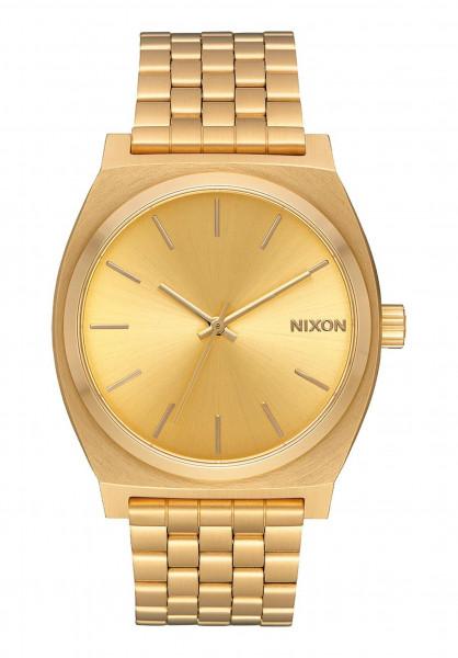 Nixon Uhren The Time Teller allgold-gold Vorderansicht
