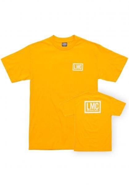 Loser-Machine T-Shirts Hardline gold vorderansicht 0396582