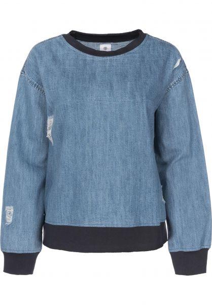 Element Sweatshirts und Pullover Create indigo Vorderansicht