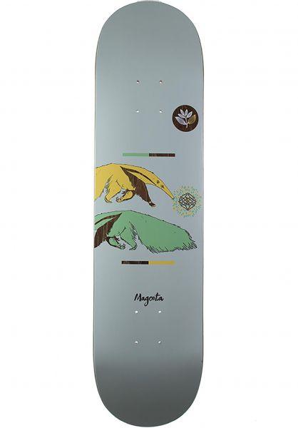 Magenta Skateboard Decks Ant Eater blue Vorderansicht