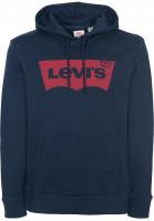 Levi's® Hoodies Housemark dressblues Vorderansicht