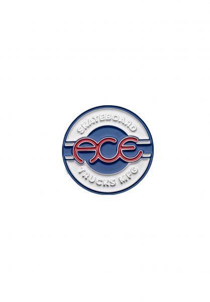 Ace Verschiedenes Seal Lapel Pin white-blue vorderansicht 0972303