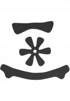 TSG-Diverse-Schoner-Meta-Helmet-Pad-Kit-DC-black-Vorderansicht