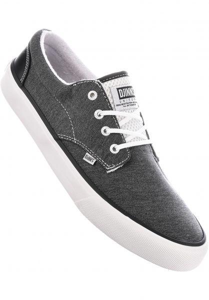 Djinns Alle Schuhe Nice Stripe Jersey black Vorderansicht