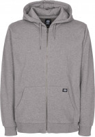 Dickies Zip-Hoodies Kingsley heathergrey Vorderansicht