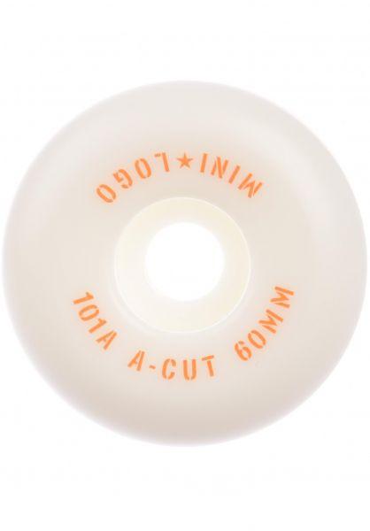 Mini-Logo Rollen A-Cut #3 101A white vorderansicht 0134703