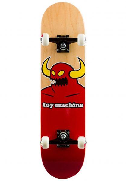 Toy-Machine Skateboard komplett Monster no color Vorderansicht