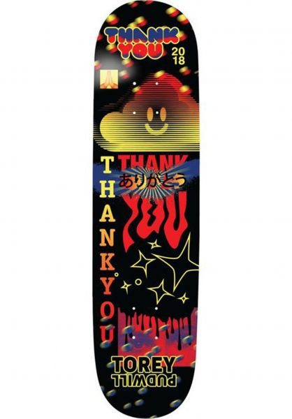 Thank You Skateboards Skateboard Decks Pudwill Fly multicolored vorderansicht 0265294