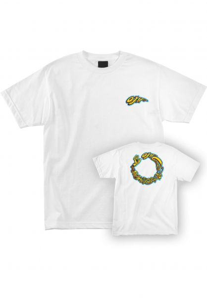 OJ Wheels T-Shirts Combo white vorderansicht 0399504