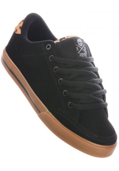 C1RCA Alle Schuhe Lopez 50 black-leopard-gum vorderansicht 0603205