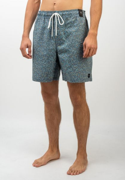 RVCA Beachwear Eclectic surplusblue vorderansicht 0205307