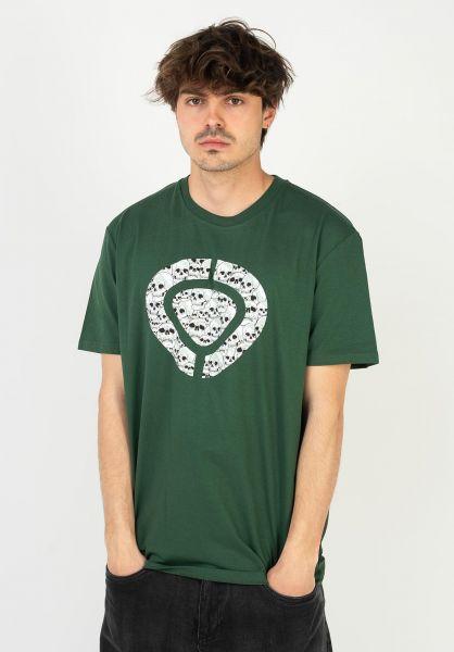 C1RCA T-Shirts Icon Skull forestgreen vorderansicht 0324082
