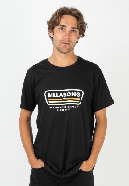 Billabong T-Shirts Badge black vorderansicht 0322644